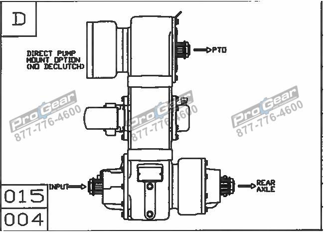 Fabco TC 170 PTO 873-0052-015 Configuration