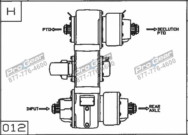 Fabco TC 170 PTO 873-0052-003 Configuration