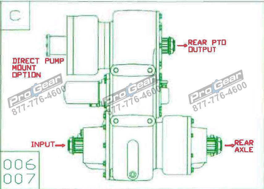 Fabco TC 170 PTO 873-0052-007 Configuration