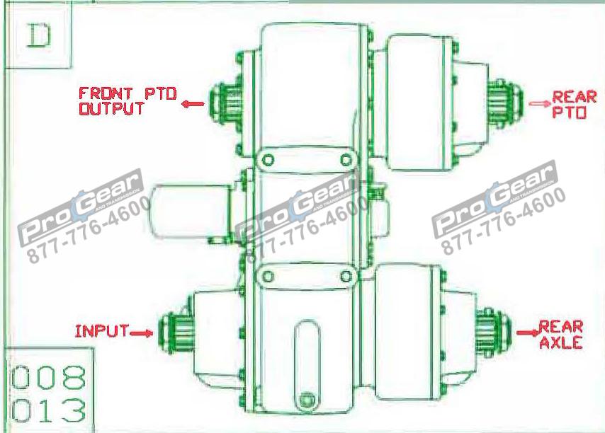 Fabco TC 170 PTO 873-0052-008 Configuration