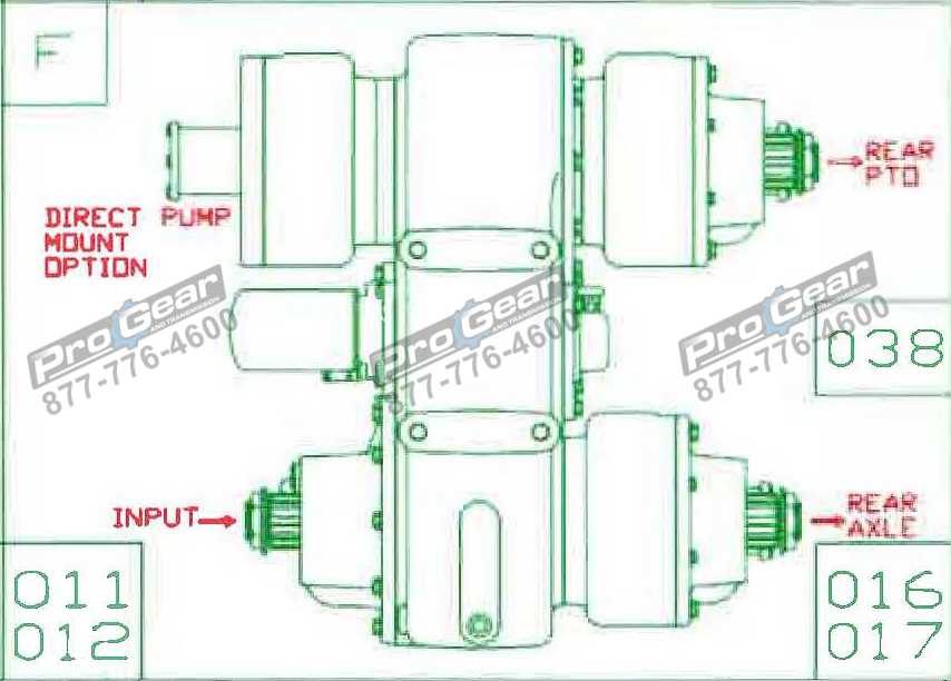 Fabco TC 170 PTO 873-0052-011 Configuration
