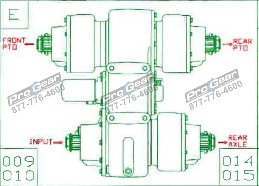 Fabco TC 170 PTO 873-0052-014 Configuration