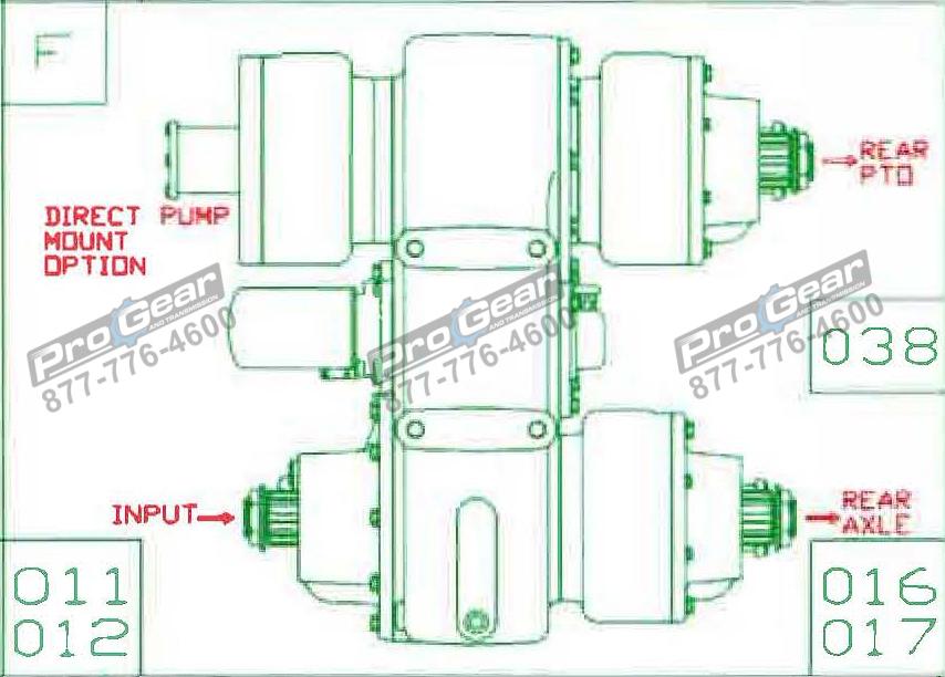 Fabco TC 170 PTO 873-0052-016 Configuration