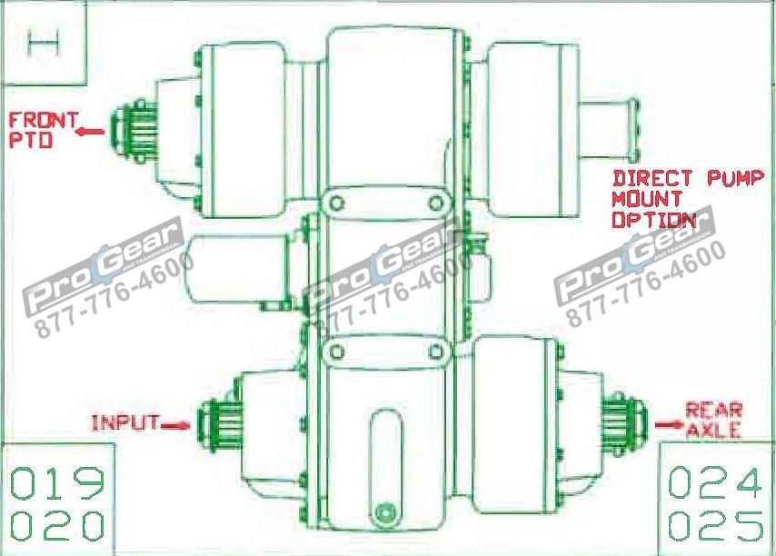 Fabco TC 170 PTO 873-0052-019 Configuration