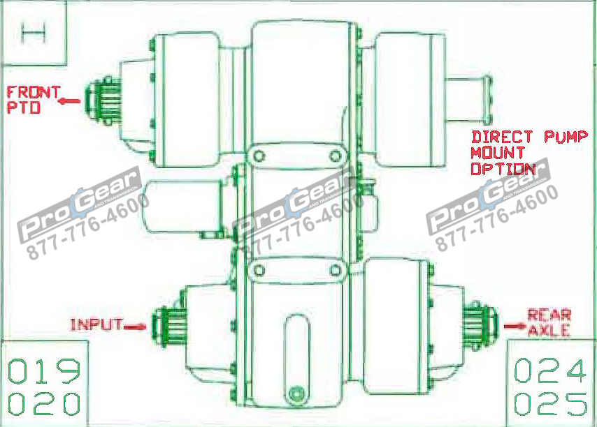 Fabco TC 170 PTO 873-0052-020 Configuration