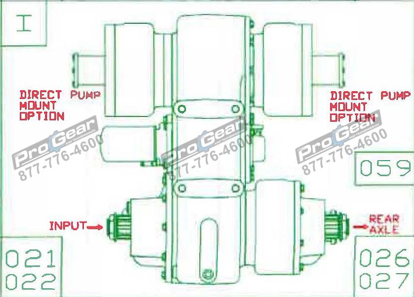 Fabco TC 170 PTO 873-0052-021 Configuration