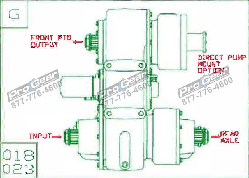 Fabco TC 170 PTO 873-0052-023 Configuration