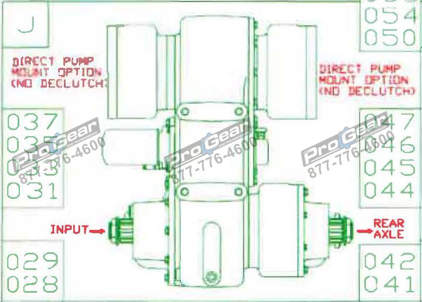 Fabco TC 170 PTO 873-0052-031 Configuration