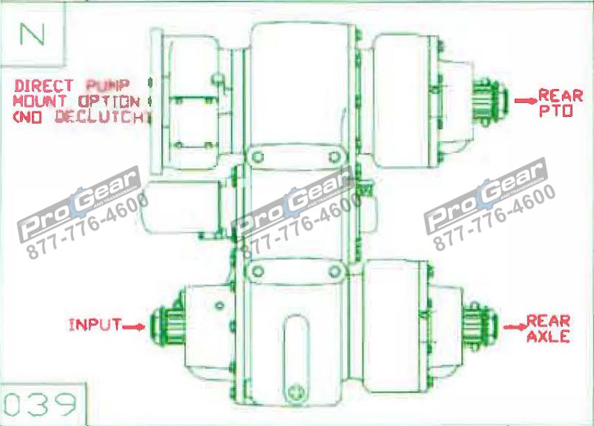 Fabco TC 170 PTO 873-0052-039 Configuration