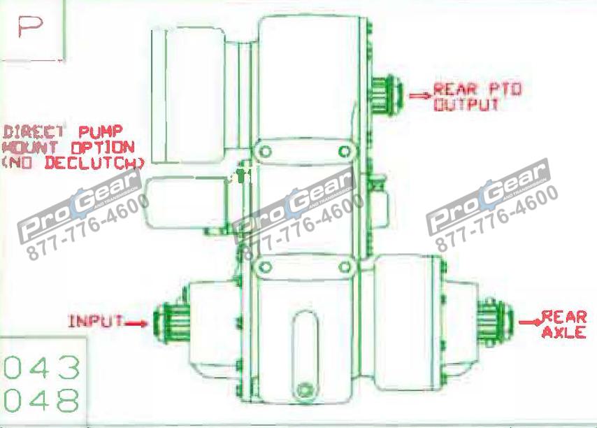 Fabco TC 170 PTO 873-0052-043 Configuration