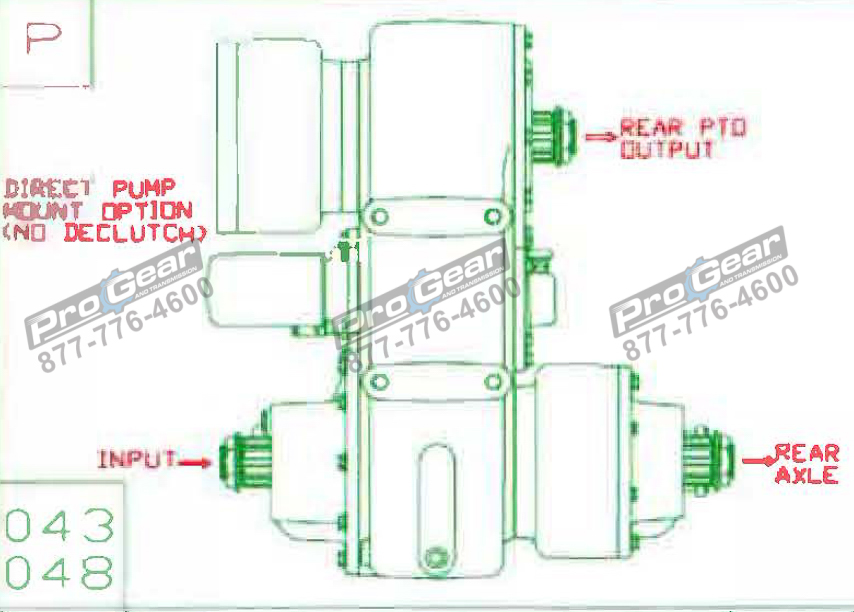 Fabco TC 170 PTO 873-0052-048 Configuration