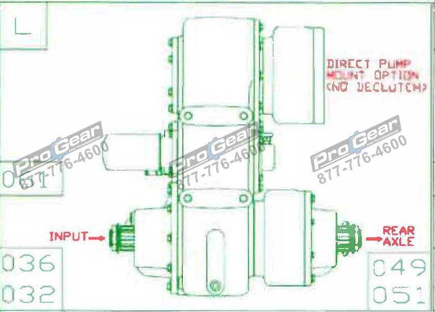 Fabco TC 170 PTO 873-0052-051 Configuration
