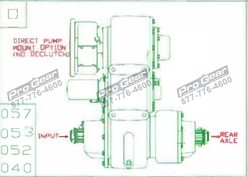 Fabco TC 170 PTO 873-0052-057 Configuration