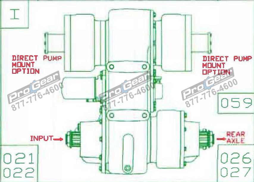 Fabco TC 170 PTO 873-0052-059 Configuration