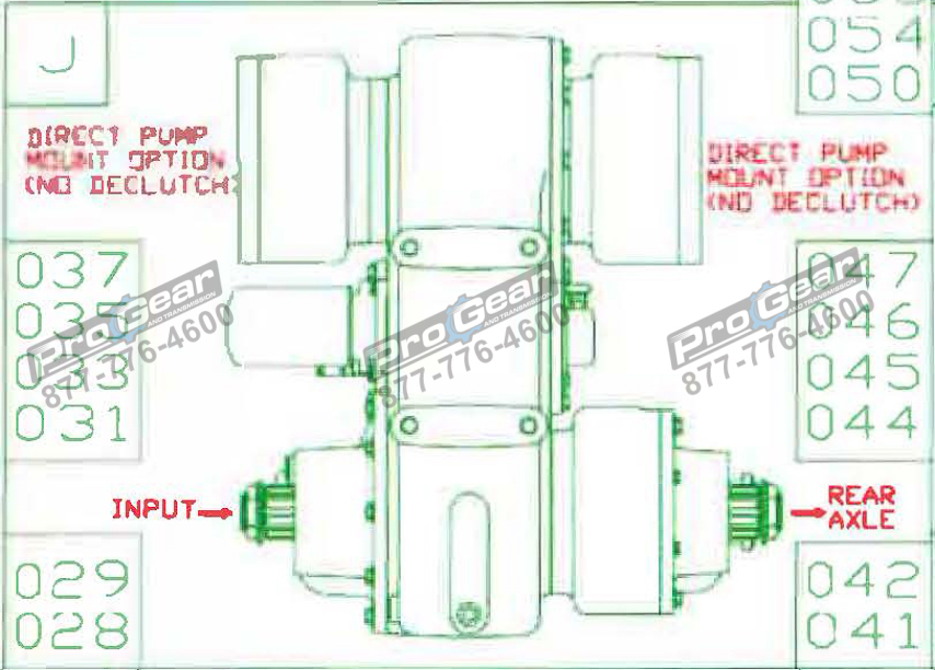 Fabco TC 170 PTO 873-0052-060 Configuration