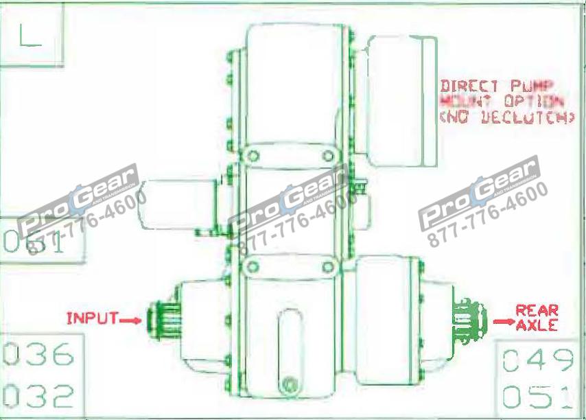 Fabco TC 170 PTO 873-0052-061 Configuration