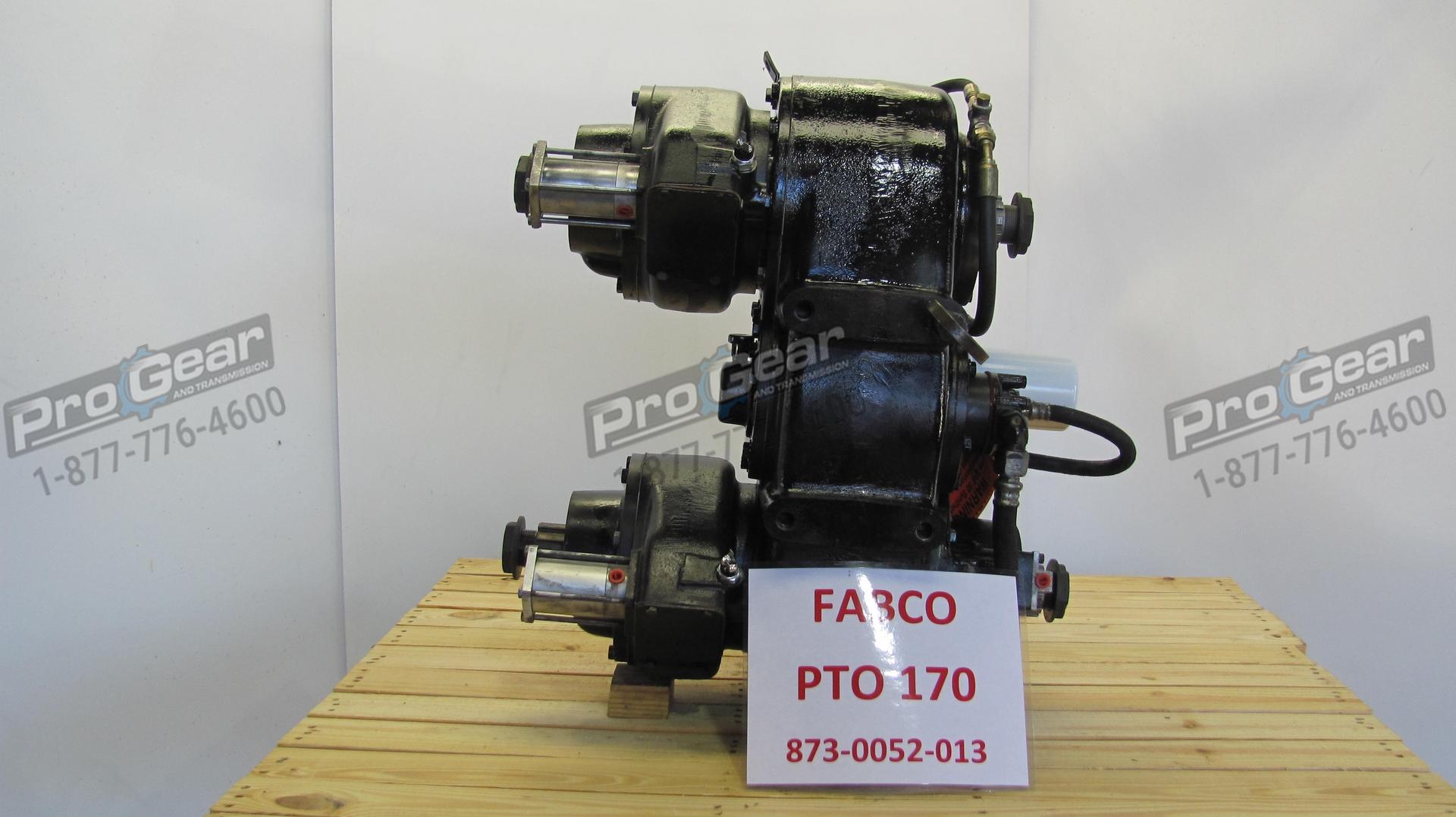 Fabco PTO 170 873 0052-013